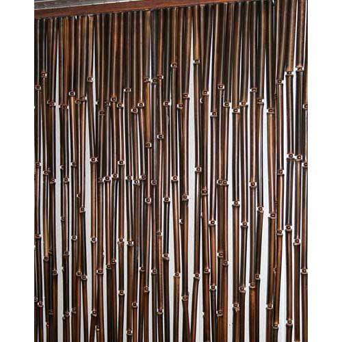 шторы из бамбука в дверной проем