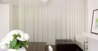 фото шторы белого цвета