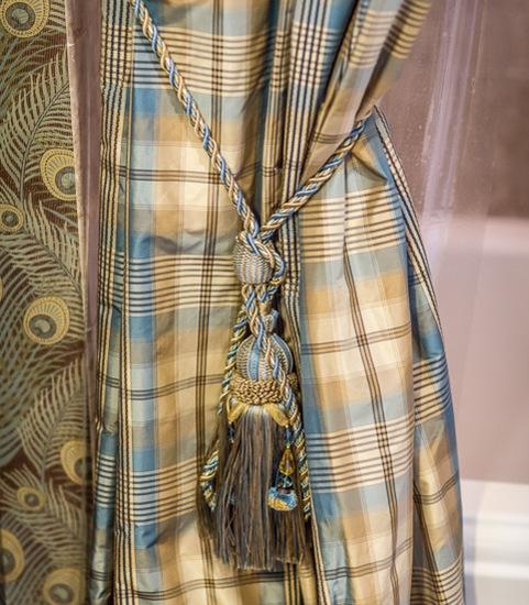 декоративный шнур для портьеры
