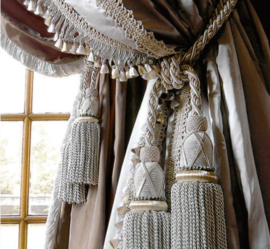 шнур для штор с кистями