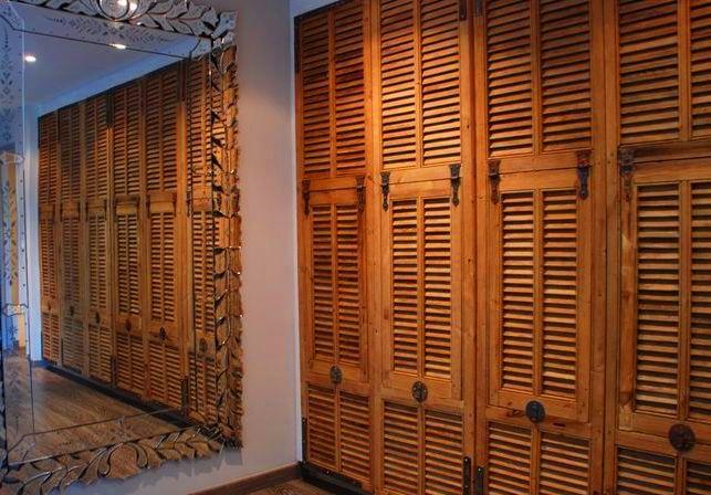 мебельные дверцы-жалюзи для шкафа