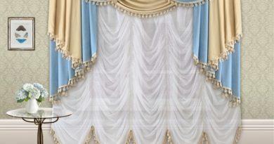 фото французской шторы