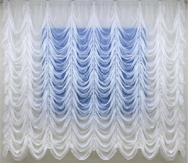 французские занавески из ткани вуаль