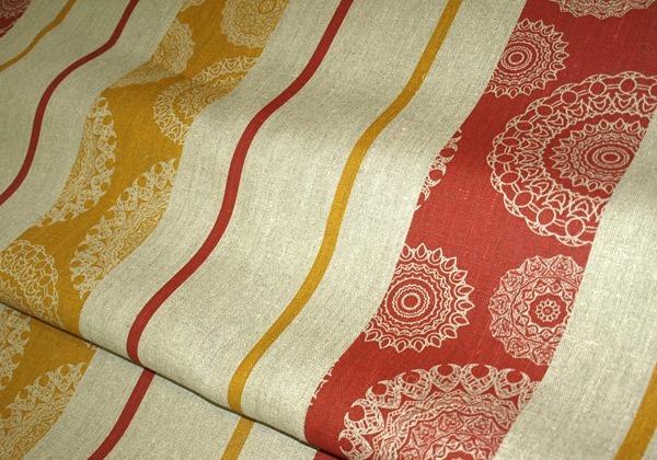 Плотная льняная ткань