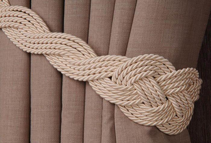 плетеный шнур для штор