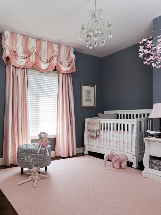 шторы для детской комнаты для новорожденных