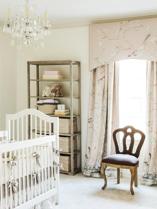 шторы в детской комнате из натуральных тканей