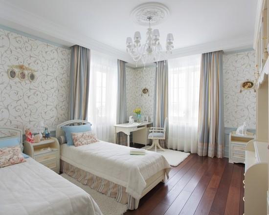 шторы для детской комнаты из ткани блэкаут