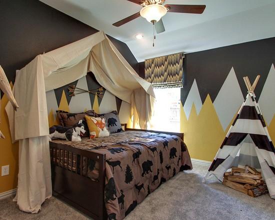 дизайн текстиля в детской комнате