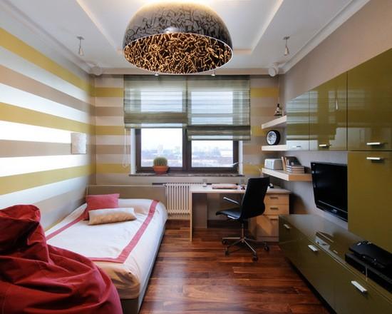бамбуковые римские шторы для детской комнаты