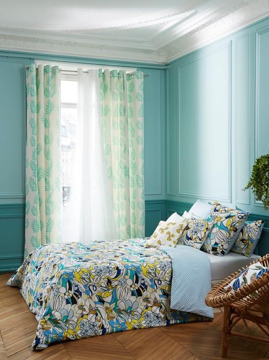 фото штор в дизайне спальни