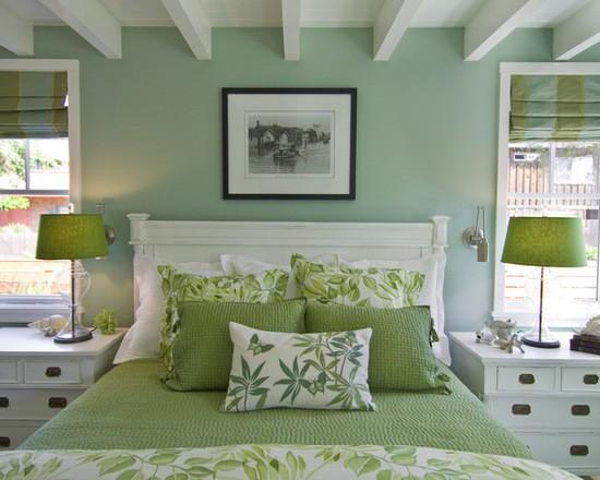 оливковые шторы для спальни