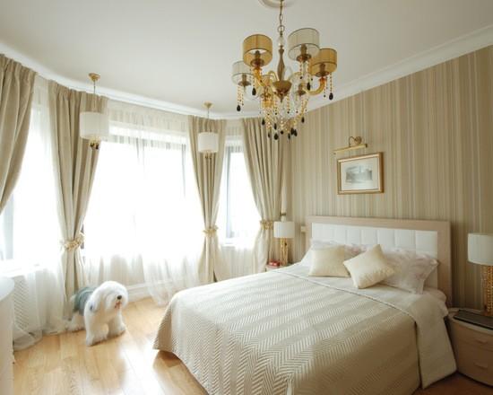 фото портьер для спальни