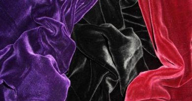 бархатная ткань