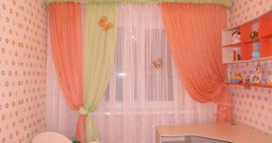 фото тюля в детской комнате