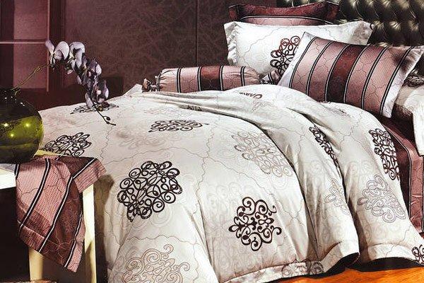комплект постельного белья из вискозы