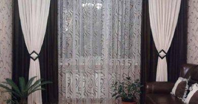 фото занавесок для зала