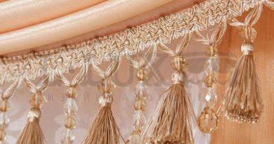 декоративная тесьма-бахрома для штор