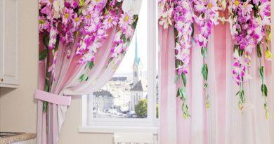 шторы с фотопечатью