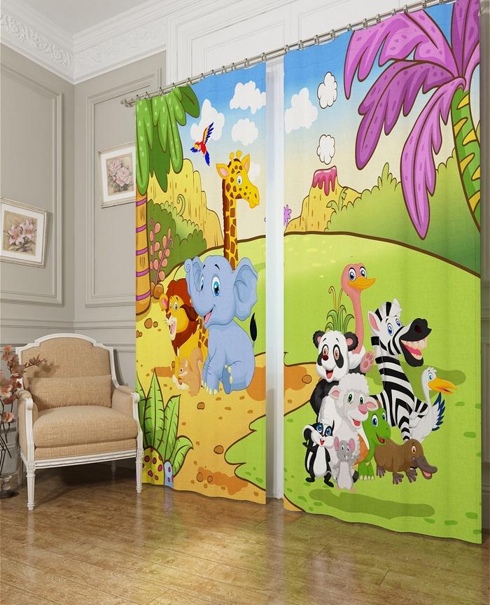 фотошторы в детскую комнату