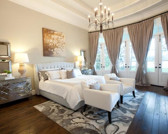 классические шторы из плотной ткани