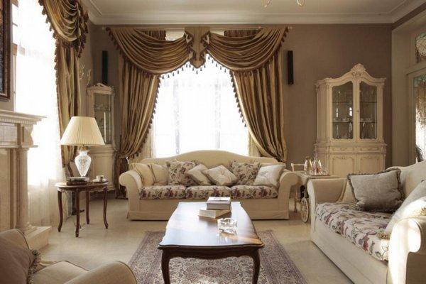 шторы в класическом стиле