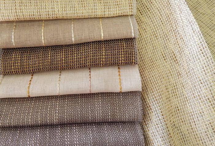 портьерная ткань из льна