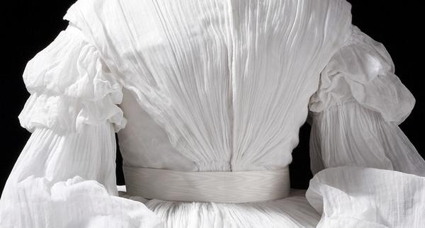 фото платья из ткани муслин