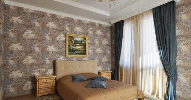 портьеры для спальни