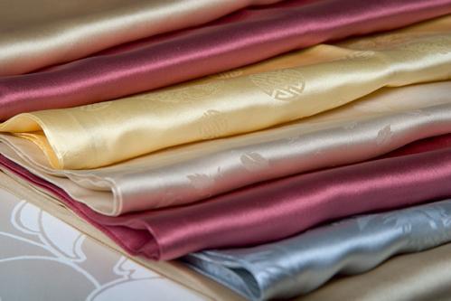 портьерная ткань из шелка