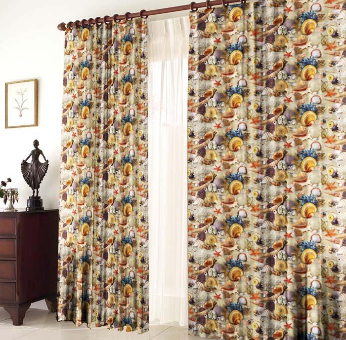 габардиновые шторы для гостиной