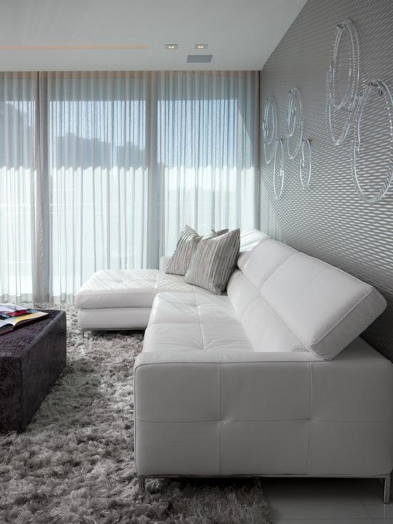 фото тонких занавесок в гостиной