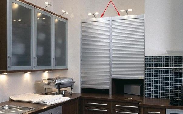мебельные жалюзи для кухонного гарнитура