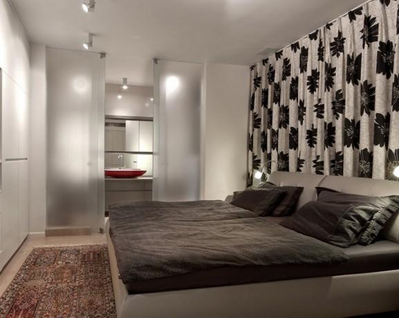 современные портьеры для спальни