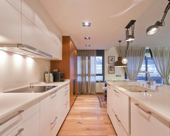фото гардины в кухне
