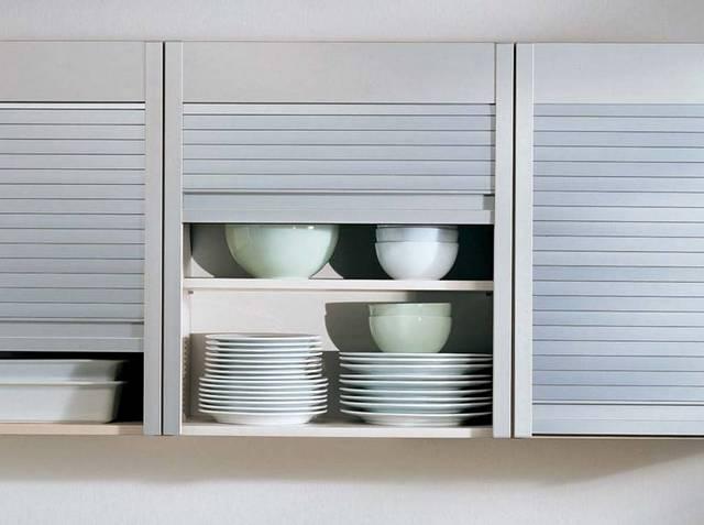 жалюзи для мебели в кухне