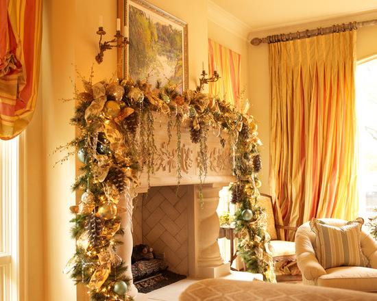 шторы золоторо цвета
