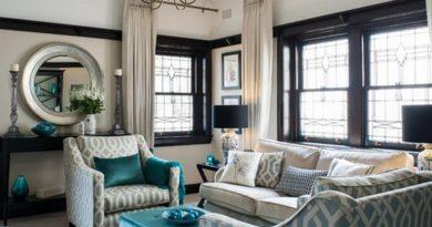 портьеры и шторы для гостиной в классическом стиле