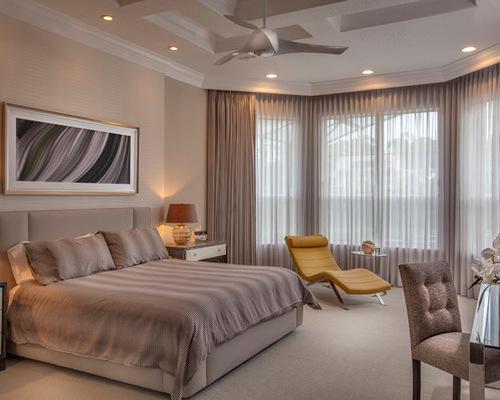 фото тюля в спальне