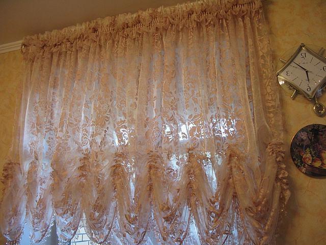 ткань органза для французских штор