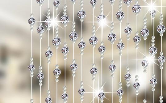 шторы из хрустальных бусин