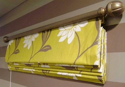 Карниз для римских штор своими руками