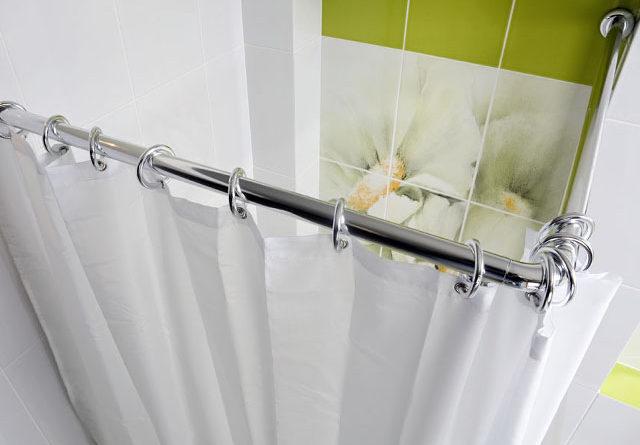 карниз для шторки в ванную