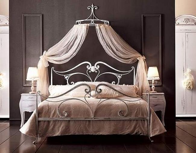 настенный карниз для полога над кроватью