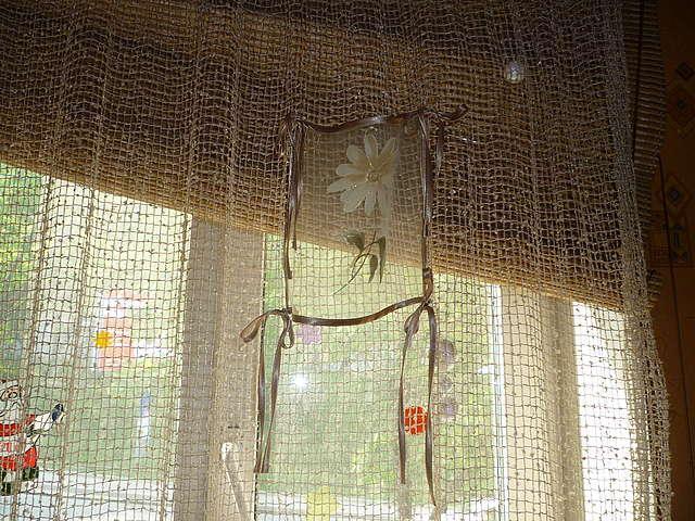 декоравное оформление тюля сетки