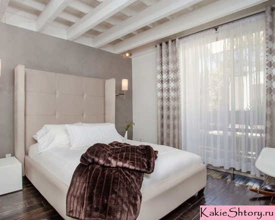 шторы и тюль для спальни