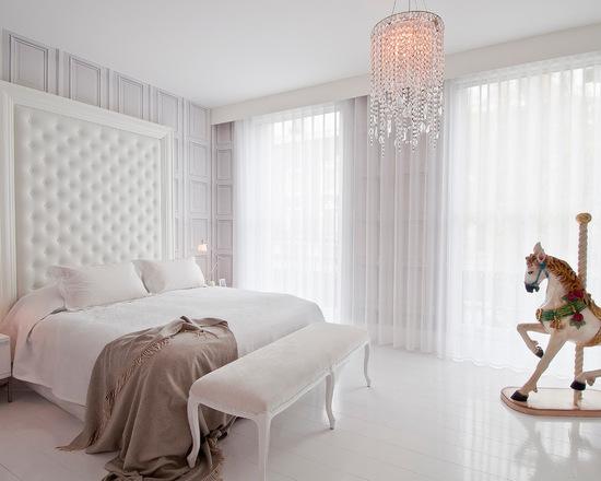 прозрачный тюль для спальной комнаты