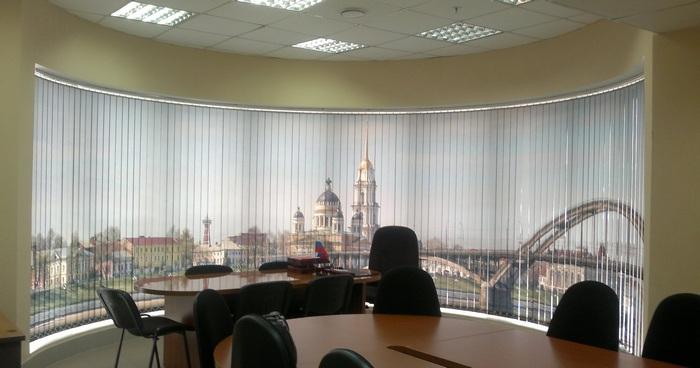 фото жалюзи в офисе