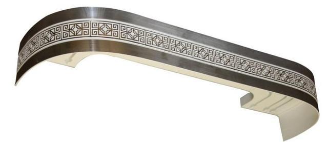 багетная планка для потолочного шинного карниза