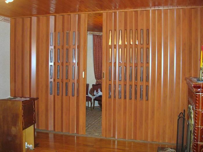 межкомнатные двери гармошкой